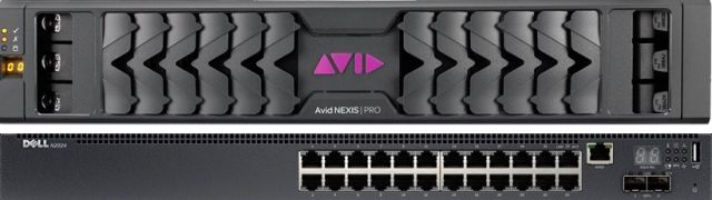 Avid_nexis_pro_dell-1_switch