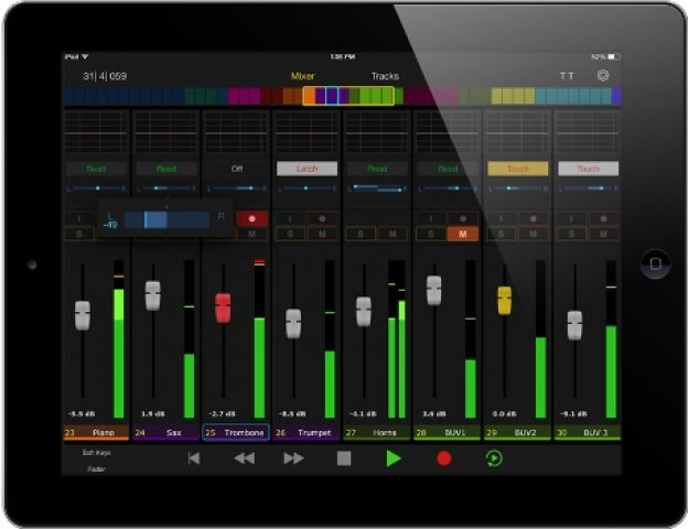 iOS Pro-Tools Control nouvelle application gratuite Avid :