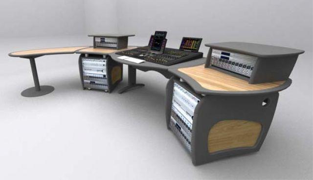 Aka design meuble 39 39 pro wave 39 39 pour console avid pro - Meuble de studio d enregistrement ...